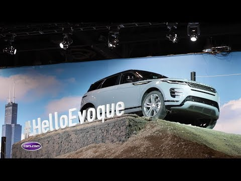 2020 Land Rover Range Rover Evoque First Look | Cars.com