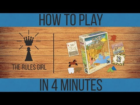 How to Play End of the Trail in 4 Minutes - The Rules Girl