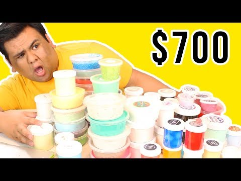 $700 Slime Package Unboxing!!! 😱 HUGE FAMOUS SLIME SHOP UNBOXING! BLACK FRIDAY EDITION!!! 💦