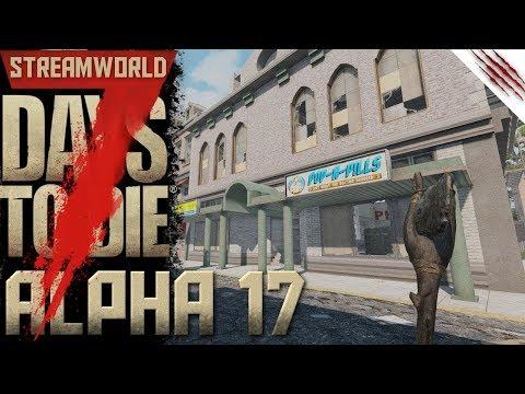 7Days To Die | Alpha 17 | Neue Abenteuer in der Alpha 17 | German Gameplay (видео)