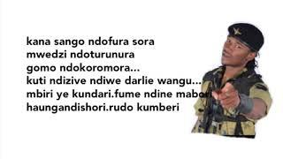 Jah Prayzah   Chengetedza Official Lyrics ✍