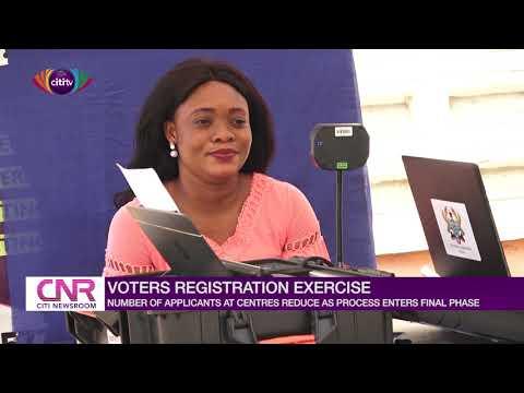 Voter registration numbers reduce in last week of EC's exercise | Citi Newsroom