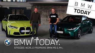 [오피셜] BMW Today – Episode 25: World premiere BMW M3 & M4