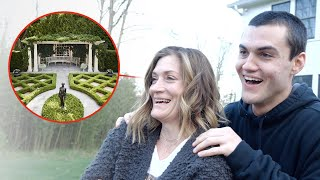 Our Mom has always wanted this so we surprised her with an epic backyard makeover. We literally did all of this with our bare hands. We're just as surprised as she is tbh  SUBSCRIBE -  https://www.youtube.com/user/TheDolan...  Check out our podcast :) New Podcasts Every Tuesday - https://podcasts.apple.com/us/podcast... https://open.spotify.com/episode/5AcG...  Merch (Going away soon :')) - https://dolantwins.com  Ethan's Stuff  INSTAGRAM - https://instagram.com/ethandolan/ TWITTER - https://twitter.com/EthanDolan SNAPCHAT - EthanDolan  Grayson's Things  INSTAGRAM - https://instagram.com/graysondolan/ TWITTER - https://twitter.com/GraysonDolan SNAPCHAT - GraysonDolan