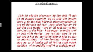 Marie Key Uden Forsvar (lyrics)
