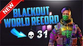 COD BLACKOUT 31 KILLS SOLOS NEW WORLD RECORD!