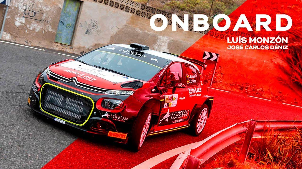 Luís Monzón y José Carlos Déniz | 36º Rally Villa de Santa Brígida