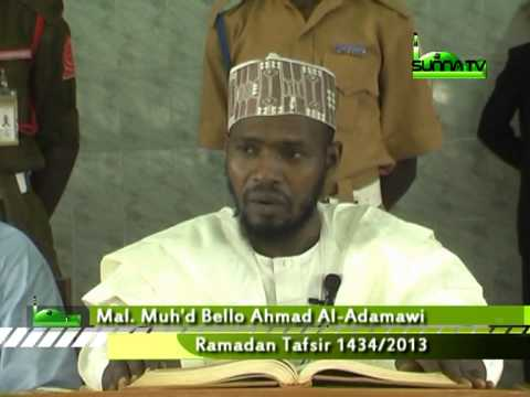 Malam Muhammad Bello Al Adamawi (Tafsirin Al-Qur'ani Mai Girma 2)