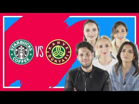 #14 Starbucks vs Kahve Dünyası   Melodi Elbirliler, Tatlıcı, Sebibebi, Cansu Yeğin, İrem Güzey