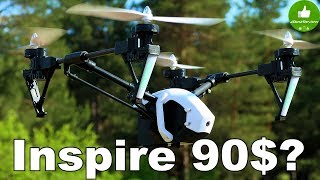 ✔ DJI Inspire за 90$?! - Эпичный Квадрокоптер WLtoys Q333с...