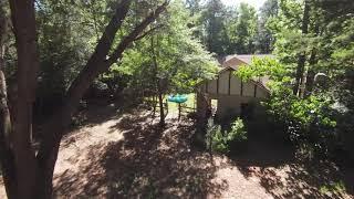 Dji-Fpv drone flying through my yard.1