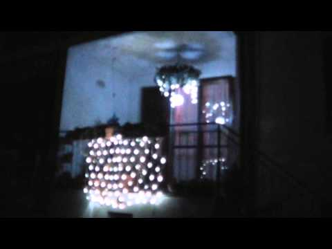 Corona Avvento per soffitto illuminata/ Outdoor lighted Advent wreath