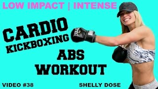 Low Impact Cardio Kickboxing ABS Workouts by Shelly Dose Fitness