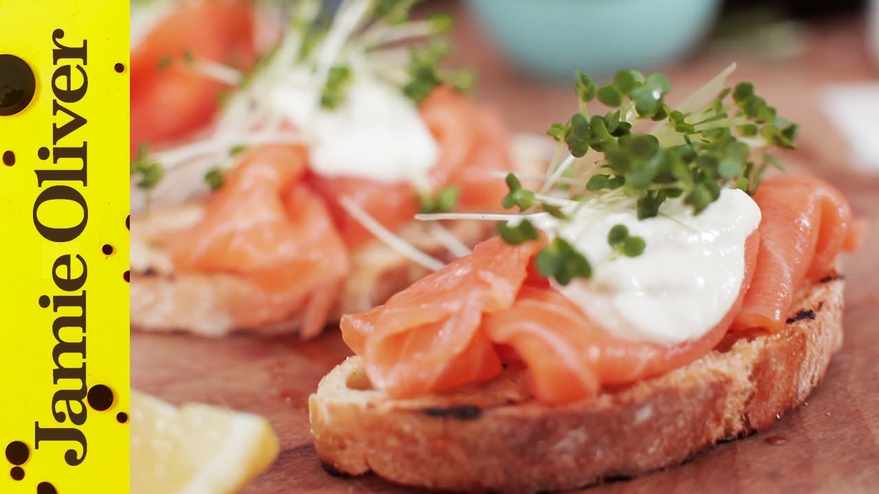 Dinner Party Starters Ideas Part - 31: Smoked Salmon U0026 Horseradish Canapes