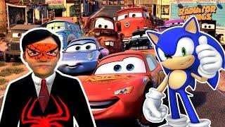 Örümcek Çocuk ve Sonic Arabalar 3 Bilgisayar Oyunu Oynuyor Yeni Bölüm İzle