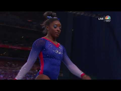 Simone Biles Had The Whole Place SHOOK