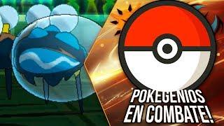 Araquanid  - (Pokémon) - POKÉMON ULTRASOL & ULTRALUNA: POKEGENIOS EN COMBATE, ¡ARAQUANID VS CRYOGONAL!