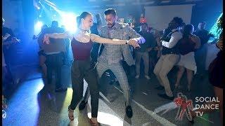 Panagiotis Aglamisis & Bella Zaharieva - Salsa social dancing   Mamboland Milano 2018