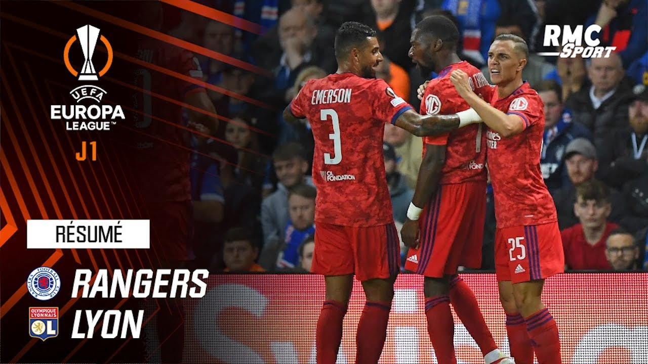 Résumé : Rangers 0-2 Lyon - Ligue Europa (J1)