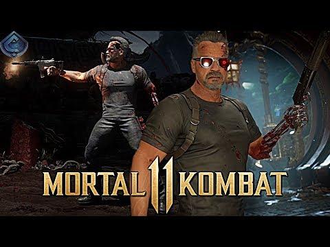 Mortal Kombat 11 Online - CRAZY TERMINATOR BRUTALITIES!