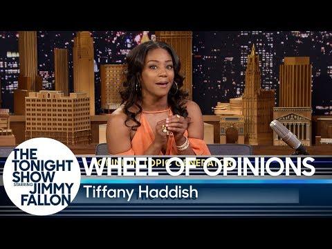Wheel of Opinions with Tiffany Haddish