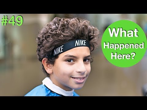 LOVELY CURLY HAIR TUTORIAL 2018 ✔︎ (Haircut & Hairstyles) Best Curly Hairstyle For Men/Kids