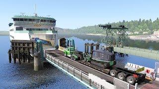 [LIVE 🔴] BEST GAME EVER Washington DLC & Logging Company Haul | American Truck Simulator Gameplay