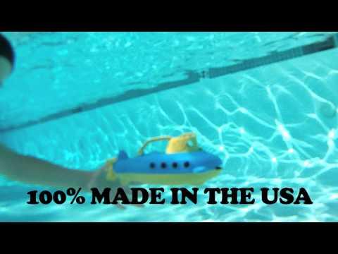 Vorschau: robustes U-Boot für Wasser- & Sandspiele