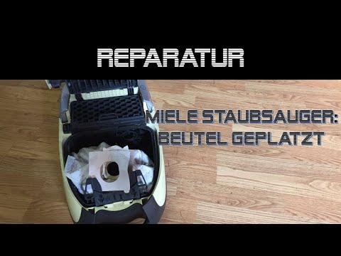 Miele Staubsauger Reparatur, Beutel geplatzt | danprogramming