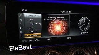 Garmin Map Pilot & Apple CarPlay Retrofitted in W212 E200