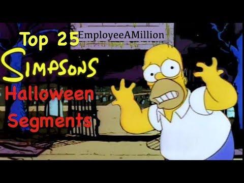 Top 25 Simpsons Halloween Segments