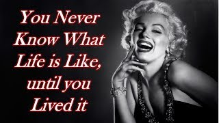 Marilyn Monroes Inspirational & Bold Quotes| Marilyn Monroe Quotes That Still Inspire