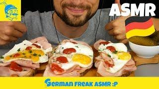 ASMR essen STRAMMER MAX mit Gewürzgurken (ASMR deutsch) - GFASMR