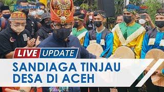 Pesona Desa Gampong Nusa yang Dikunjungi Sandiaga Uno, Dorong Jadi Wisata Edukasi Kebencanaan
