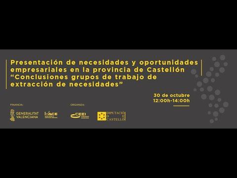"""Video Foro Crecer Innovando:  """"Como aprovechar las oportunidades empresariales del territorio"""".[;;;][;;;]"""