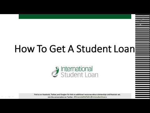 How To Get An International Student Loan - Hangout