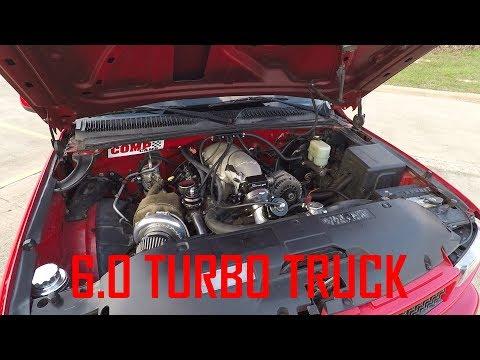 6 0L LQ4 turbo silverado dyno 613rwhp!!! - смотреть онлайн
