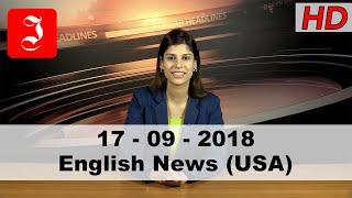 News English USA 17th Sep 2018