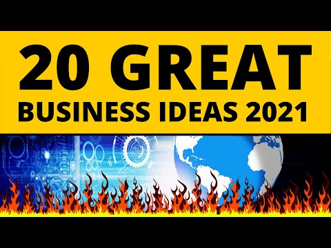 , title : '20 Great Business Ideas to Start Your Own Business in 2021