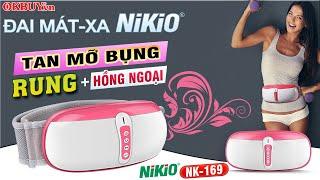 Video Review đai massage bụng giảm mỡ thừa thế hệ Nikio NK-169 - Công nghệ rung lắc và xoay hiện đại