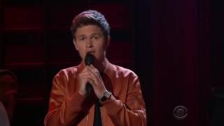 Ansel Elgort Singing Easy