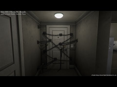 Silent Hill 4 The Room Apartment Remake In Unity 5 Polycount