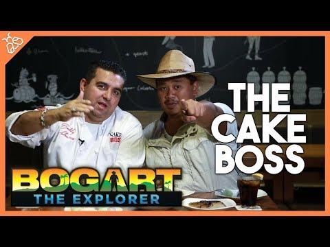 BOGART THE EXPLORER AND BUDDY VALASTRO JR. (Cake Boss Meets Rice Cake Boss)