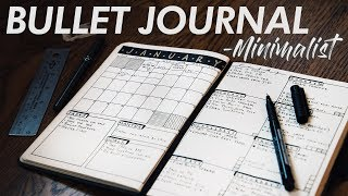 Minimalist's EFFICIENT Bullet Journal  13ft Scamp Trailer