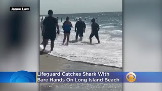 WATCH: Lifeguard Catches Shark With Bare Hands On Long Island Beach