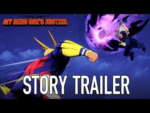 Trailer de My Hero Ones Justice