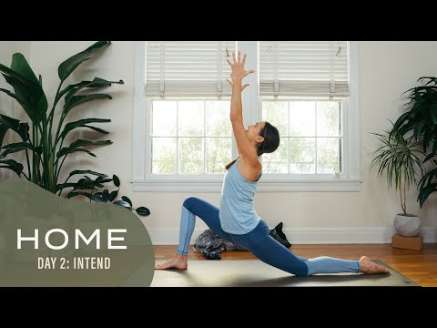 Home – Day 2 – Intend | 30 Days of Yoga With Adriene