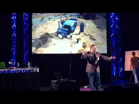 Kinect Used As A Virtual Toyota Showroom