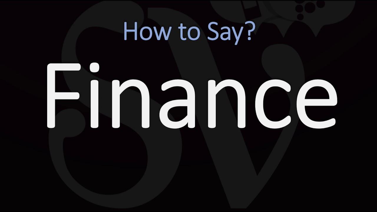 How to Pronounce Finance? (3 WAYS!) British & American English Pronunciation thumbnail