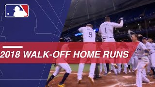All walkoff homers from the 2018 season